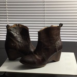 Bed Stu Gentry Wedge Boot, 9.5